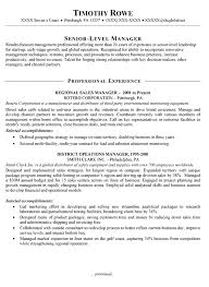 sales manager resume example resume samples for sales