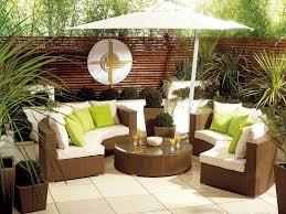 photo white wicker patio furniture set