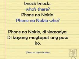 tagalog knock knocks | Tumblr via Relatably.com