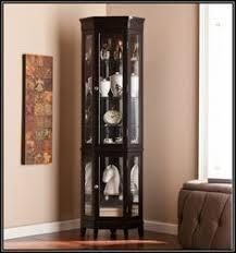 curved corner curio cabinet dining room corner china cabinet black  corner china cabinet black