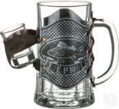Купить <b>Кружка для пива Арти-М</b>, Ерш, 600 мл, с рюмкой Арти-М в ...