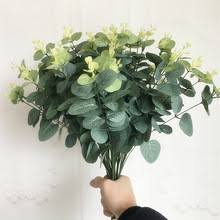 Buy <b>artificial eucalyptus branches</b> plant flower and get free shipping ...