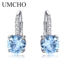 UMCHO <b>Real</b> 925 <b>Sterling Silver</b> Clip Earrings For <b>Women</b> ...