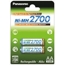 Аккумулятор <b>Panasonic AA</b> 2700mAh (BK-3HGAE/2BE), 2шт ...
