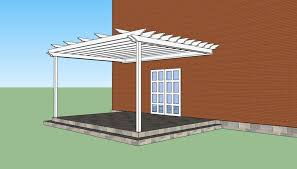 How to build a pergola attached to the house   HowToSpecialist    How to build a pergola attached to house