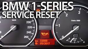 How to reset service reminder <b>in BMW</b> 1-Series (E81 <b>E82 E87 E88</b> ...