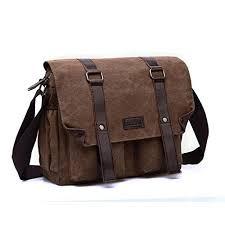 <b>Men'S Messenger Bag Men'S Shoulder Bag</b> Simple <b>Fashion</b> Canvas ...