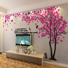 # <b>3D Big Tree</b> Wall Murals for Living Room Bedroom Sofa Backdrop ...