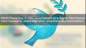 International Day of Peace 2015 - YouTube