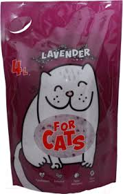 <b>For Cats</b> Силикагелевый с ароматом лаванды / TUZ022 (4л ...