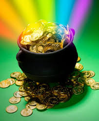 Image result for irish pot of gold