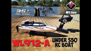 <b>WLTOYS WL912-A</b> RC SPEED BOAT REVIEW - YouTube