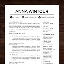 resumes   pack  free resume templates attractive professional     iBrandStudio resume templates for modern women and men