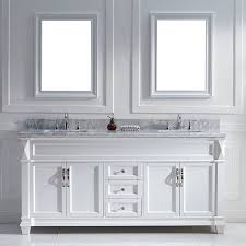 white double sink bathroom inspired from quality combinations of the caroline and the huntshire the victoria double sink bathroom vanity is built to present a bold and elegant look