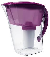 Купить Фильтр <b>кувшин</b> Аквафор Аквамарин <b>1.7 л</b> фиолетовый по ...