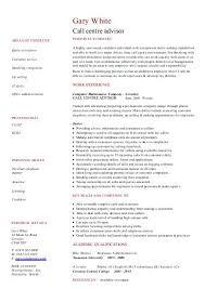 Security Guard CV template - Dayjob Call centre advisor CV template - Dayjob