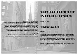 sustainable interior design thesis
