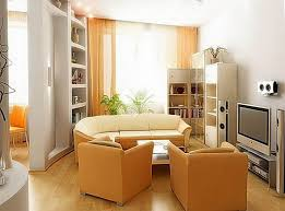 attractive small living room using simple couch design completed with various cabinet design attractive small space