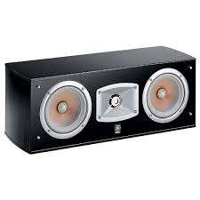 <b>Центральный канал Yamaha NS-C444</b> black (Elliptical form ...