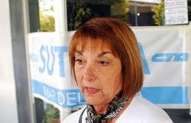 La secretaria general del SUTEBA Mar del Plata, Zulema Casanova, habló esta mañana en la 99.9 sobre las medidas que debieron tomar ante el paro policial, ... - Zulema-Casanova