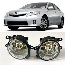 <b>For Toyota Camry</b> Hybrid 2010 2014 9 Pieces Leds Fog Lights H11 ...
