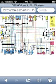 honda rebel 125 250 450 • view topic colored wiring diagrams cb650sc 83 nighthawk 650