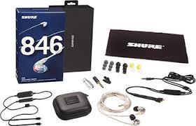 <b>Вставные наушники Shure SE</b> 846-CL BT1-EFS прозрачный ...