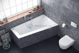 <b>Акриловая ванна Excellent Sfera</b> Slim 170x100 R, цена 40950 руб ...