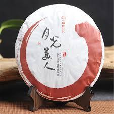 2019 357g Raw <b>Pu Er Tea</b> Yunnan Moonlight Beauty <b>Compressed</b> ...