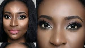 anastasia beverly hills contour kit demo dark skin review