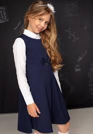 <b>Сарафаны и платья школьные</b> для девочек 36507000: цвет ...