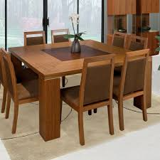 dining room tables chairs square:  comfortable area rug ideas also brown wooden chairs design feat cool square kitchen table with flower