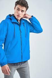 Купить Cobalt Shower Resistant <b>Anorak Jacket</b> на сайте Next: Россия