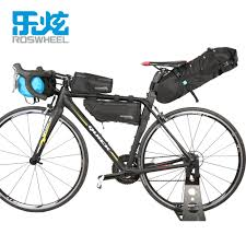 ROSWHEEL 7L 100% Full Waterproof <b>Bicycle Bag Bike Handlebar</b> ...