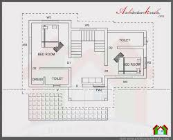 BEDROOM HOUSE PLAN IN SQUARE FEET   ARCHITECTURE KERALAFIRST FLOOR PLAN