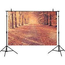 <b>Allenjoy</b> 7x5ft Autumn Scenery Deciduous Background 7x5ft <b>Vinyl</b>