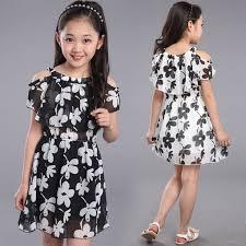 Teenage Girl <b>Dresses Summer</b> 2016 <b>Children's Clothing</b> Kids ...