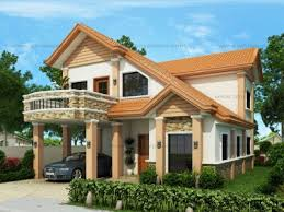 Two Storey House Plans   Pinoy ePlans   Modern House Designs    Floor Plan Code  MHD    Floor Area  sq m    Beds   Baths
