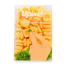 Пиксельные фишки <b>маленькие</b>, <b>Upixel</b>, 60 шт., слоновая кость ...
