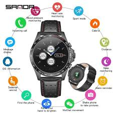 <b>SANDA Smart</b> Sport Watch Men Pedometer Heart Rate Monitor ...