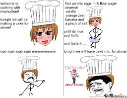 Cooking With Mumuchan by recyclebin - Meme Center via Relatably.com