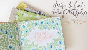 surface design to portfolio stage bonnie christine and learn how to design and bind your very own portfolio