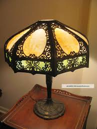bedroom lamps vintage ideas mercury glass table lamp with unique shade for home lighting ideas