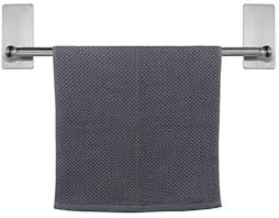 NearMoon Self Adhesive Bathroom Towel Bar ... - Amazon.com