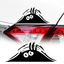 <b>Funny 3D Big</b> Eyes Car Decal Sticker For volkswagen golf 4 ford ...