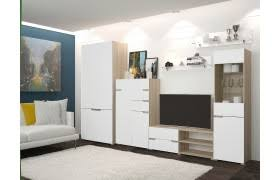 <b>Стенки</b> в гостиную белые, купить в Москве <b>белую стенку</b> в ...