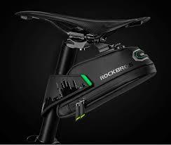 <b>ROCKBROS Cycling Rainproof Bicycle</b> Bag Shockproof Bike Saddle ...