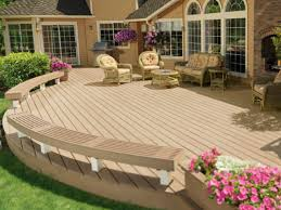 Outdoor Deck Design Ideas created for lounging