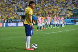 Brazil winger Neymar