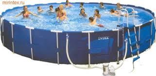 Бассейн каркасный <b>Intex</b> 28236 457х122см <b>Metal Frame</b> Pool ...